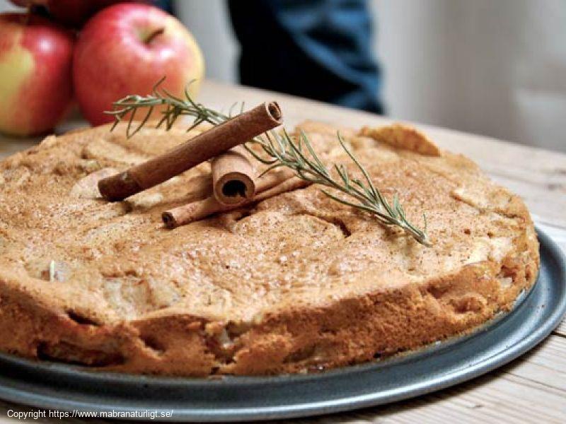 Äppelkaka med Rosmarin