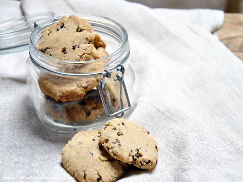 Chocolate nib cookie