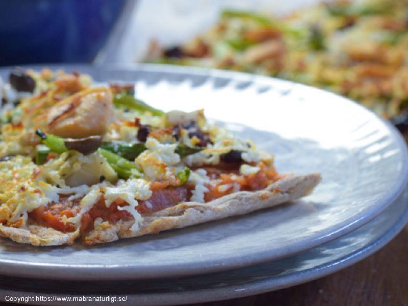 Pizzabotten - Favoritpizzan - (glutenfri och utan jäst)