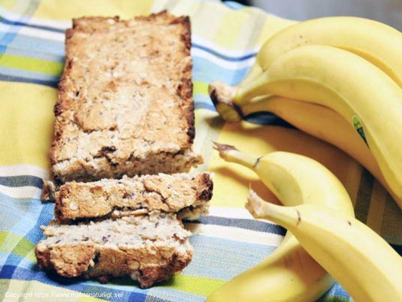 Veganskt Bananbröd