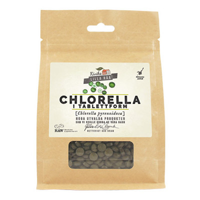 Chlorella tabletter - Raw
